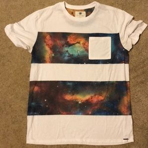 On The Byas galaxy pocket T shirt